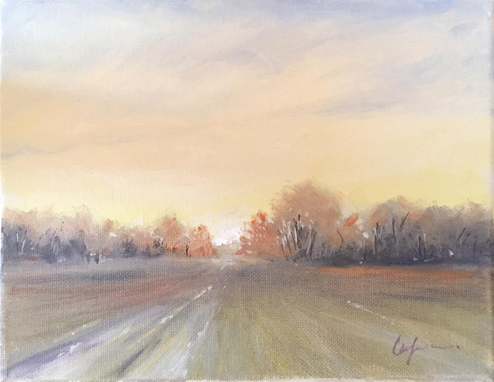 """Michigan Subtle"" original fine art by Cornelis vanSpronsen"