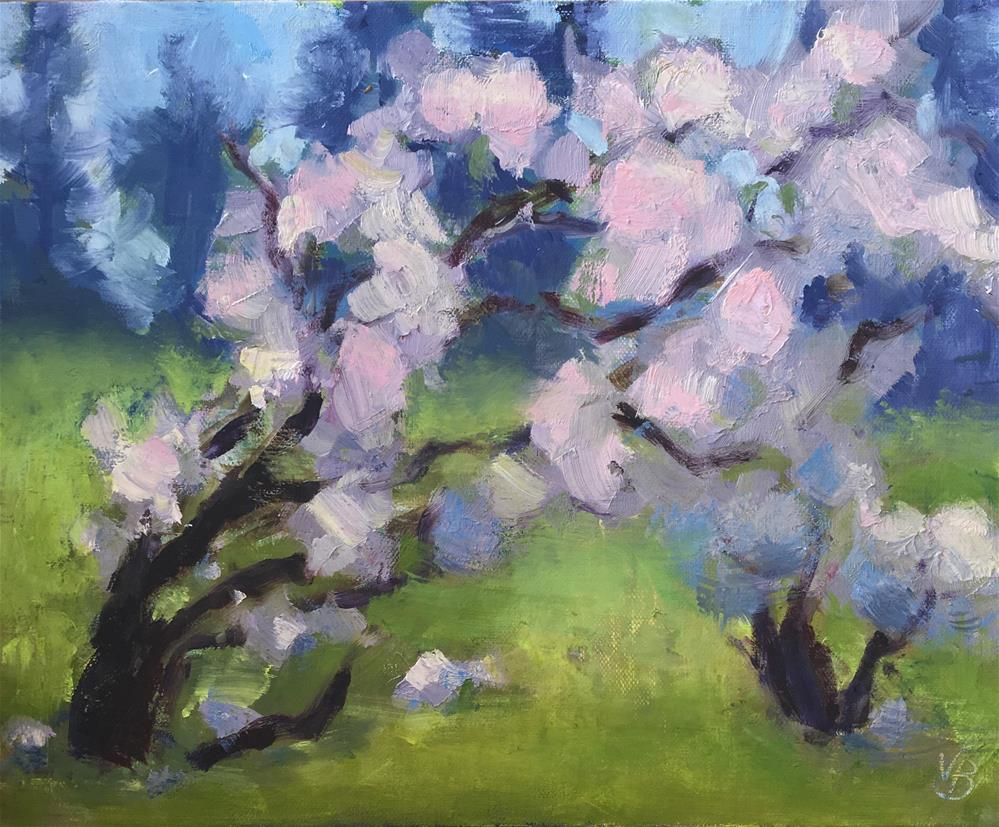 """Now, Spring!"" original fine art by Victoria  Biedron"
