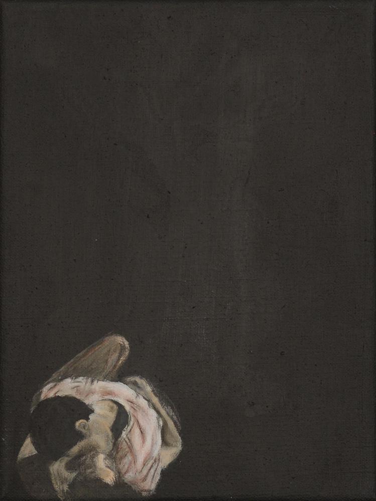 """couple"" original fine art by Sandra Woerner"