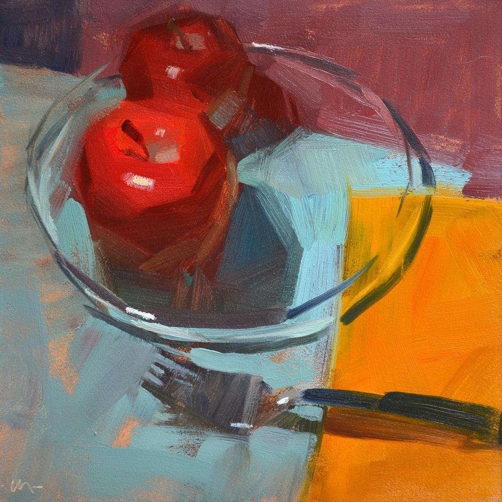 """""""Our Glass House"""" original fine art by Carol Marine"""