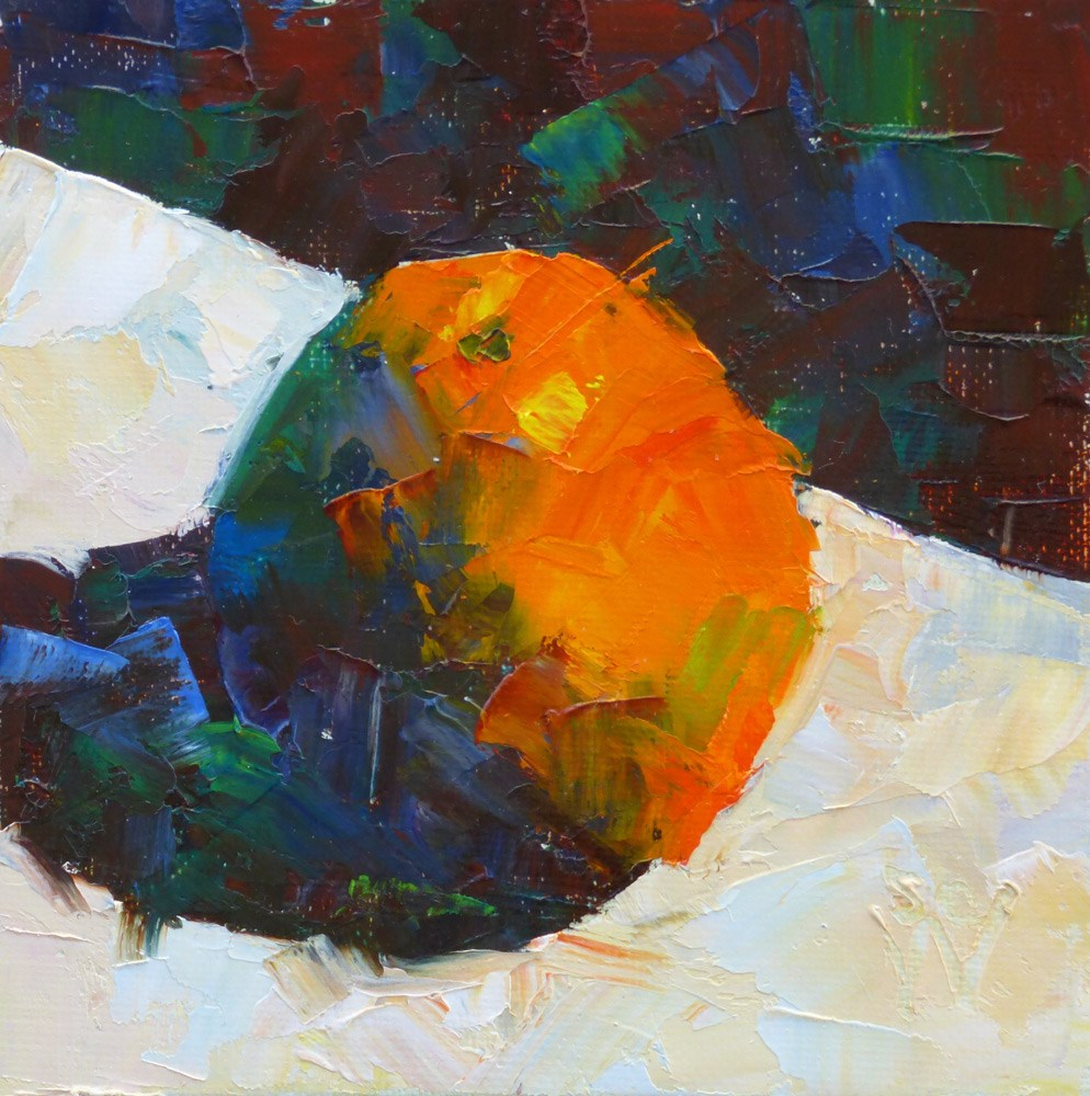 """Citrus Fun"" original fine art by Susan Woodward"