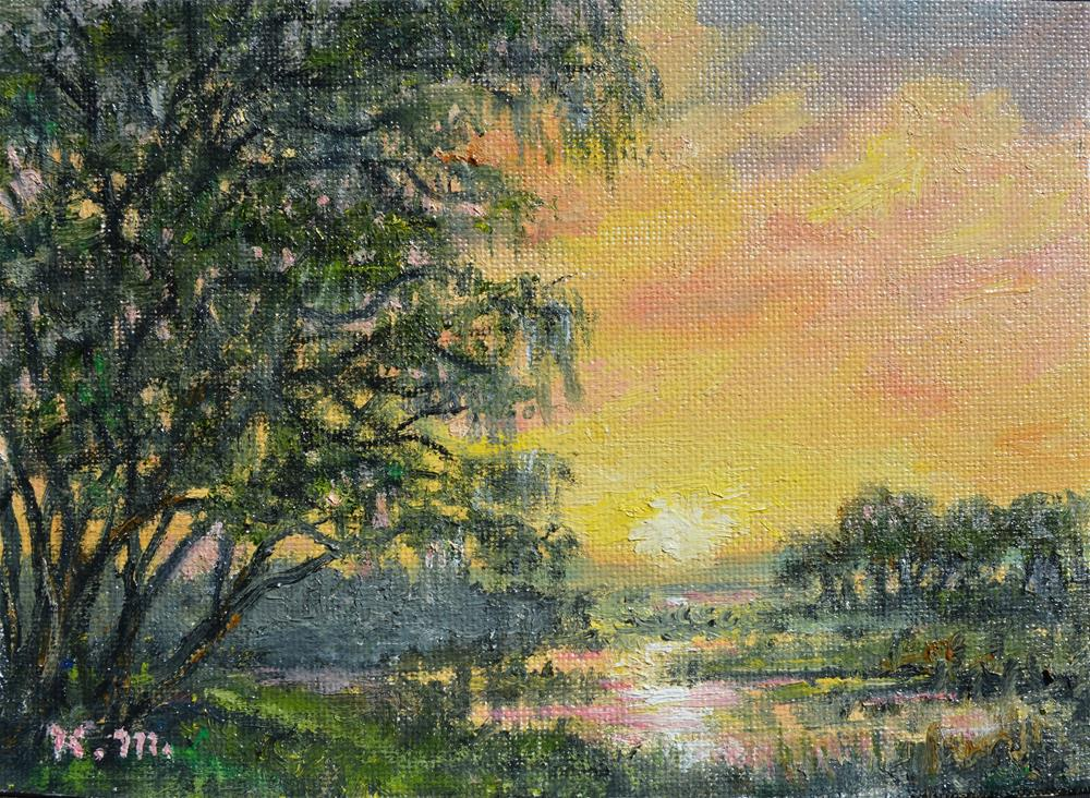 """Lowcountry Scene"" original fine art by Kathleen McDermott"