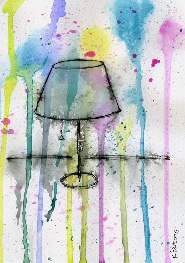 """Illuminated"" original fine art by Kali Parsons"