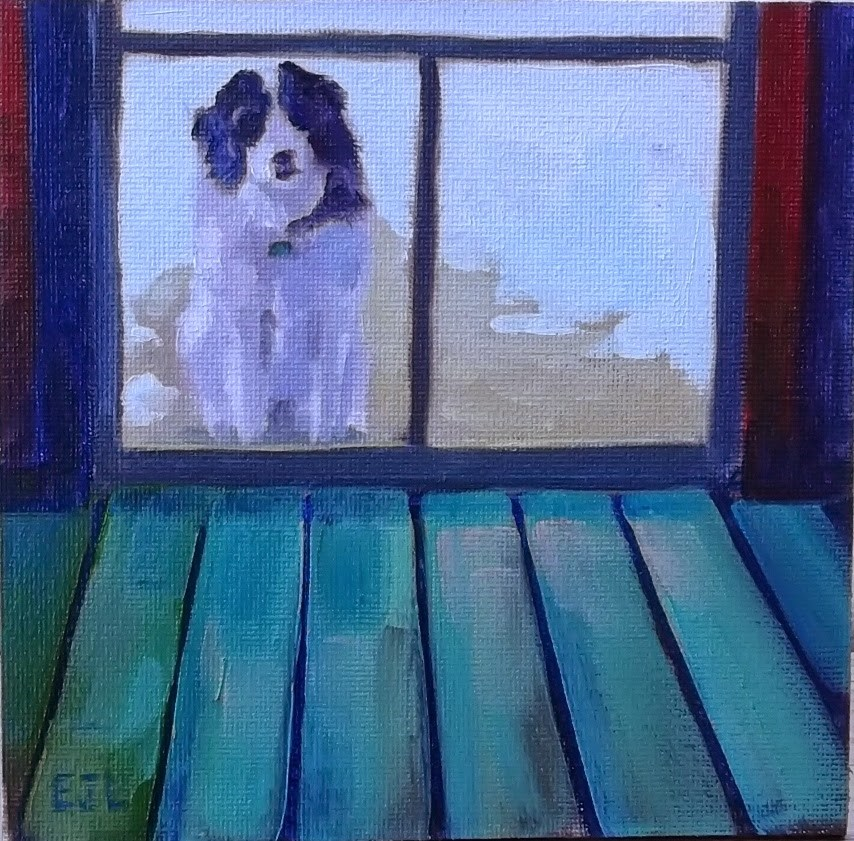 """#31 - Outside Looking In"" original fine art by Eric Larson"