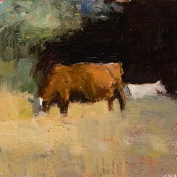 """Grasslands"" original fine art by Randall Cogburn"