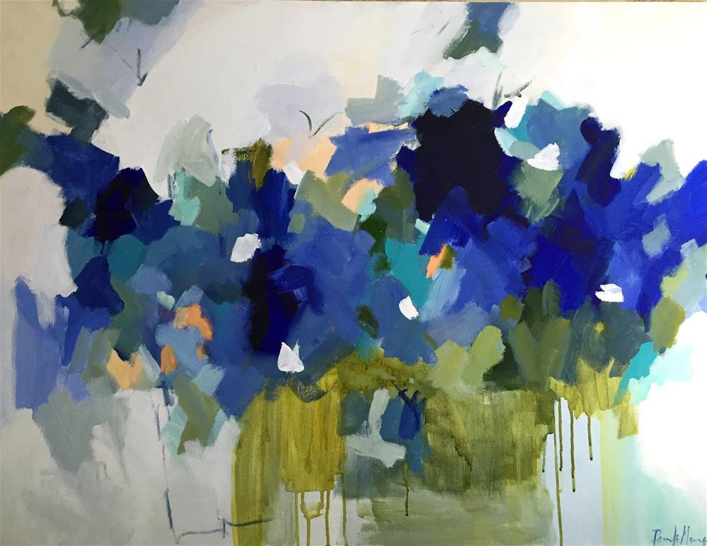 """Blue Muse"" original fine art by Pamela Munger"