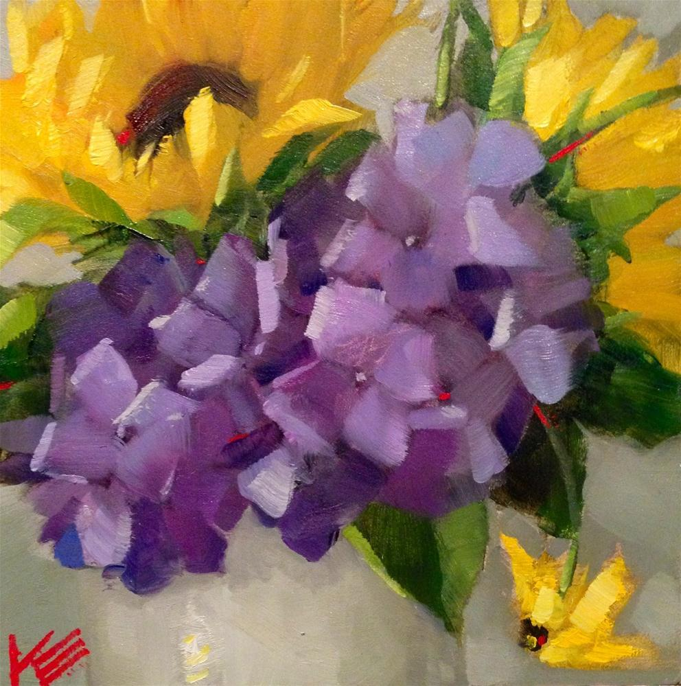 """Fresh Bundle"" original fine art by Krista Eaton"