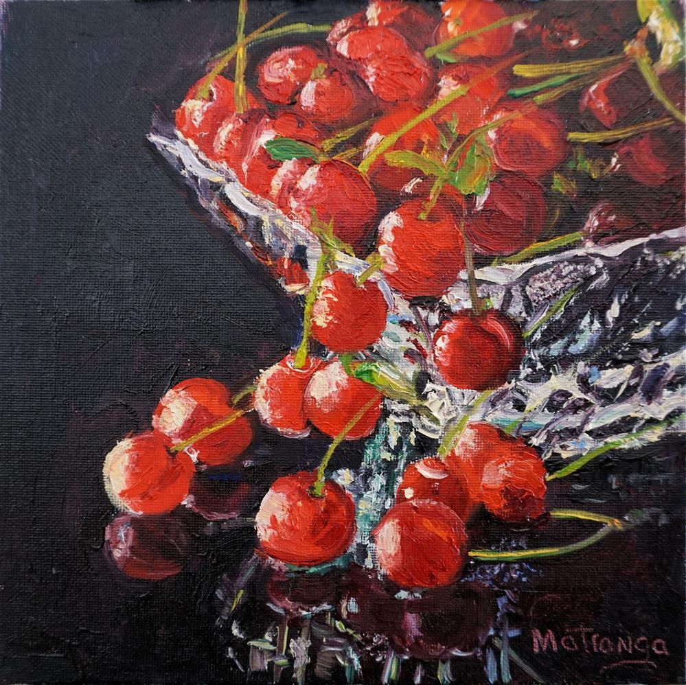 """""""A Bowl Full"""" original fine art by Patricia Matranga"""