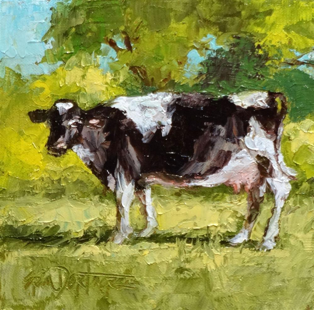 """Moove Over"" original fine art by Erin Dertner"