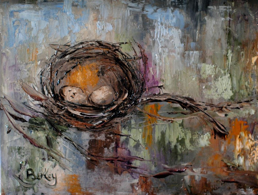 """Then There Were Two"" original fine art by Kelly Berkey"