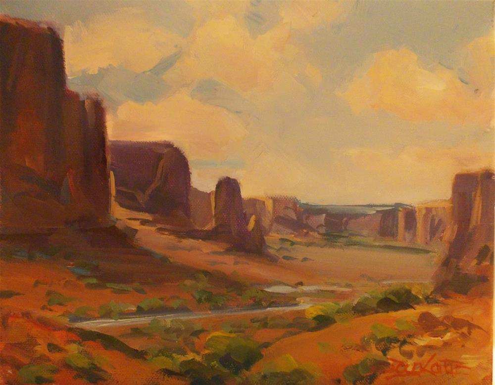 """CANYON"" original fine art by Doug Carter"