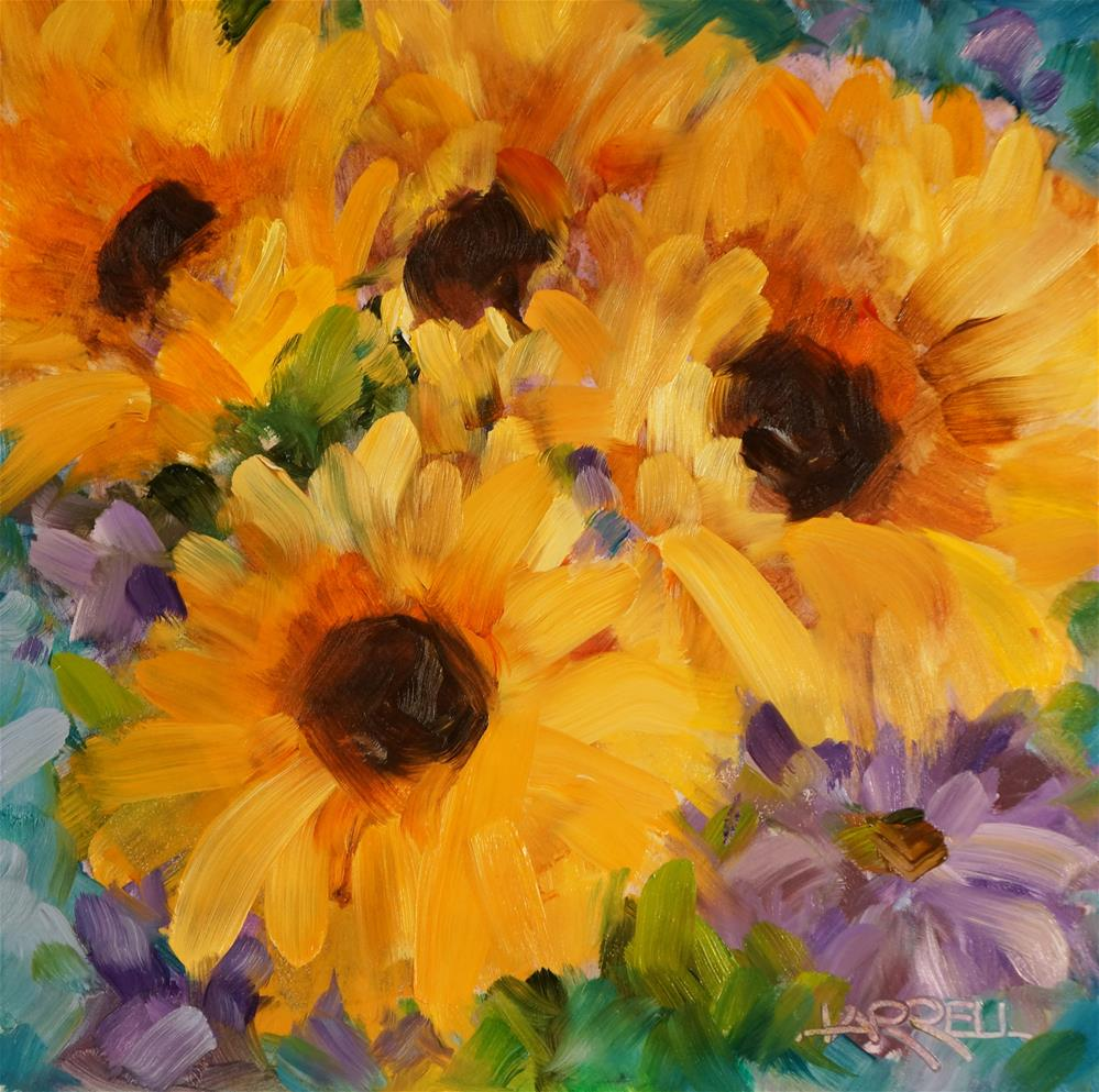 """Sun Daze"" original fine art by Sue Harrell"