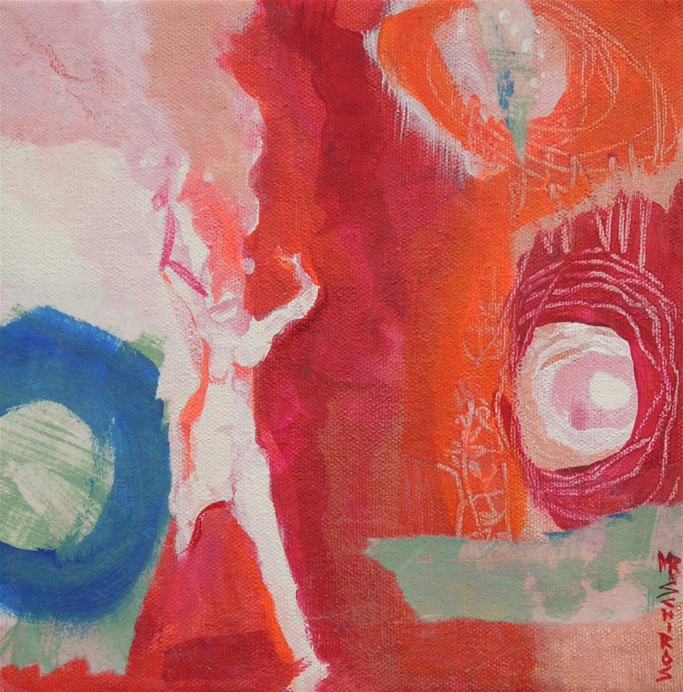 """""""Run Wild"""" original fine art by Mary Schiros"""