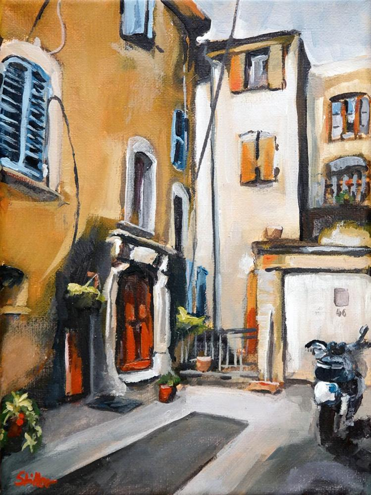 """1610 St. Didier"" original fine art by Dietmar Stiller"