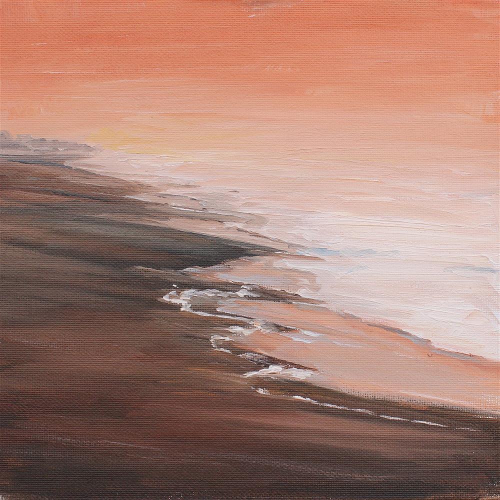 """Walking on Sunshine-Katrina and The Waves"" original fine art by Tess Lehman"