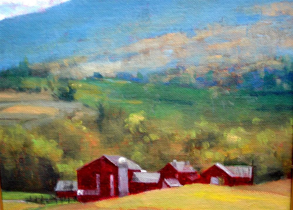 """PA country"" original fine art by Joan Carroll"