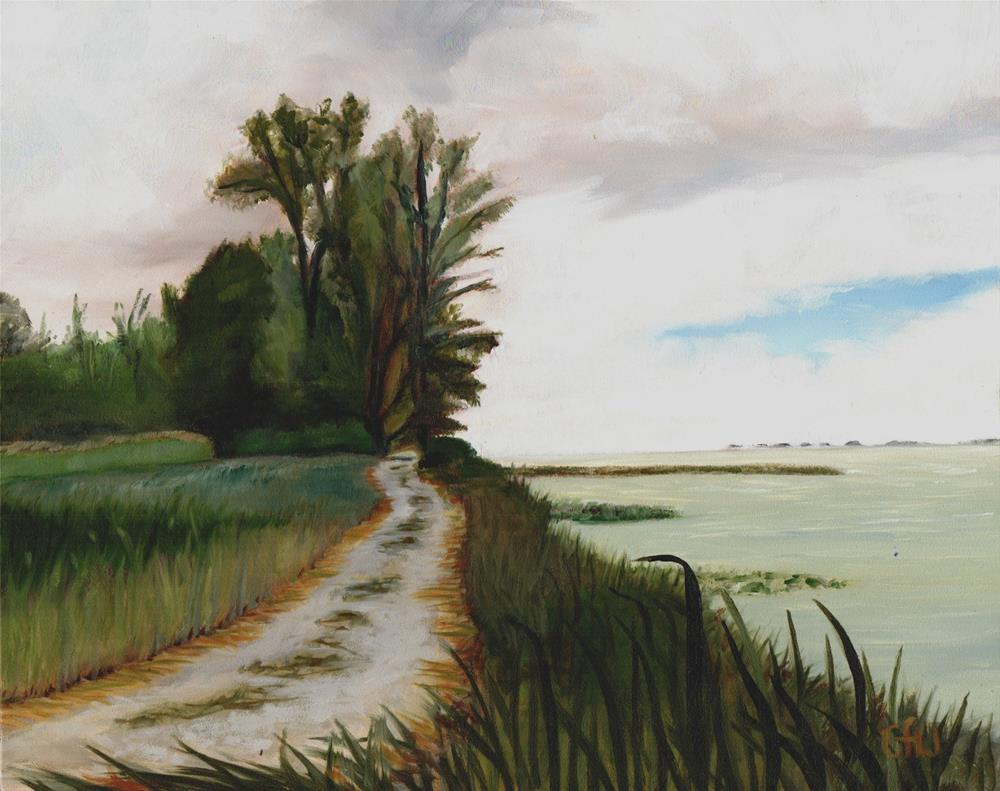 """Marsh Trail"" original fine art by Gary Westlake"