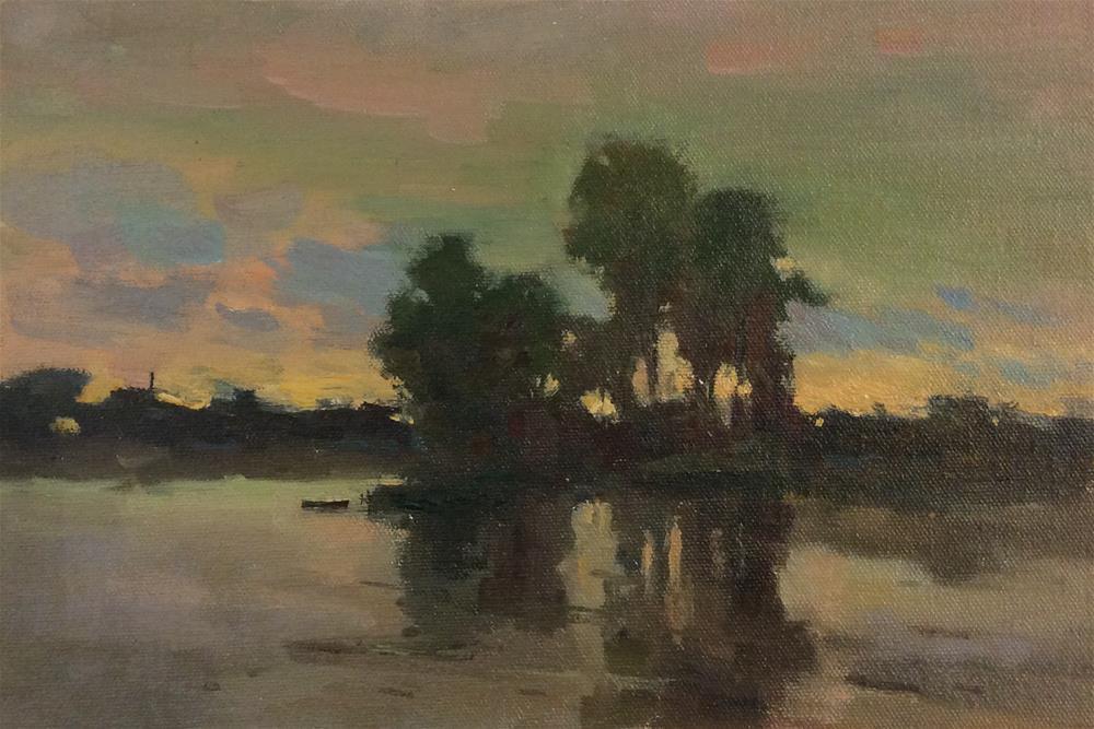 """Evening"" original fine art by John Shave"