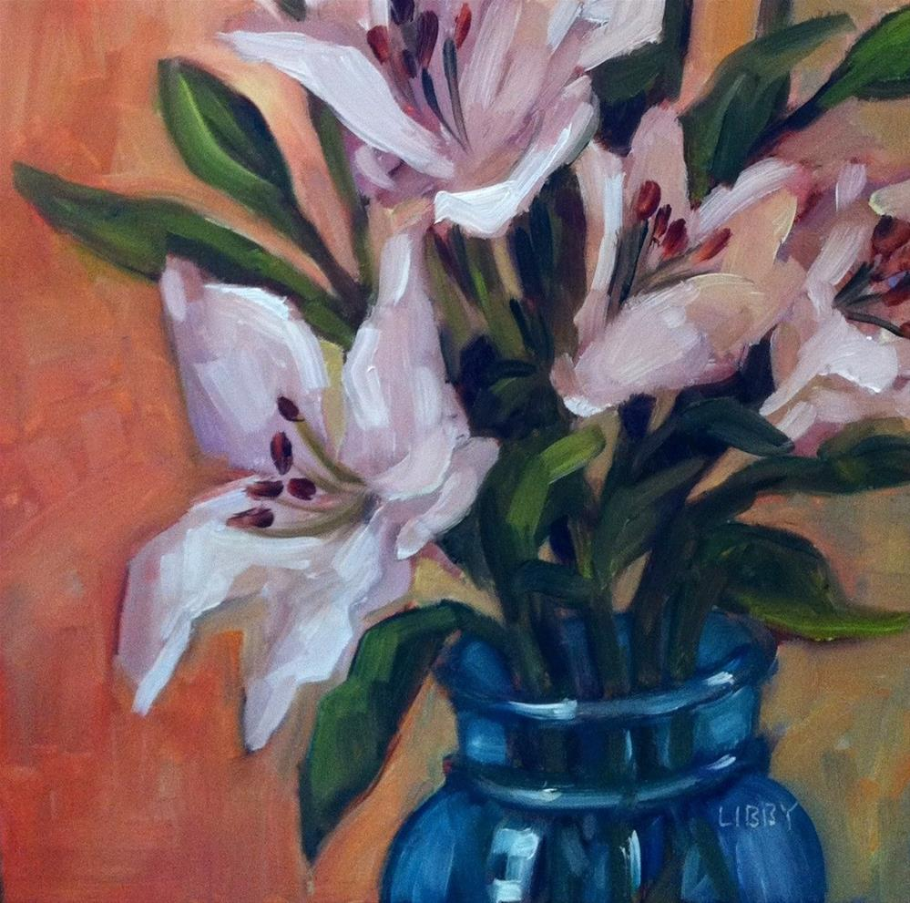 """Lily View"" original fine art by Libby Anderson"
