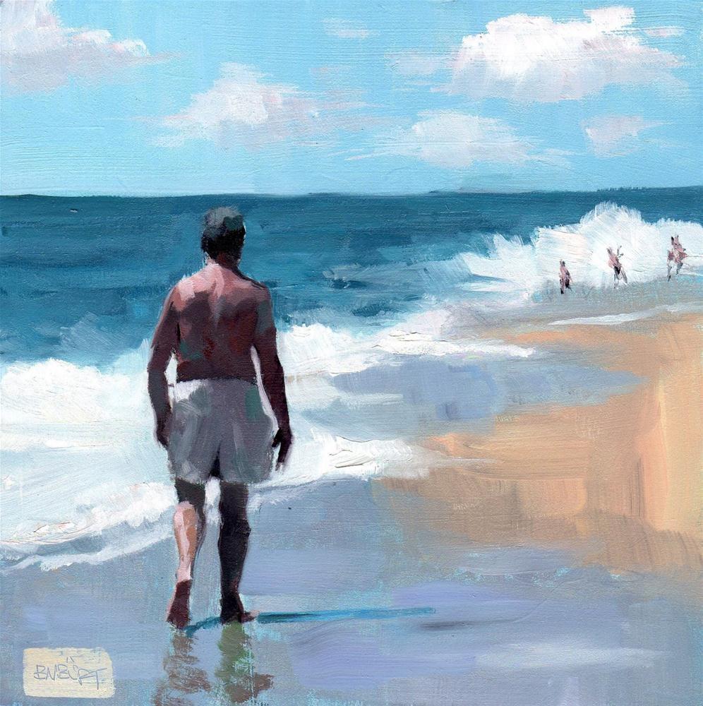 """#287 Towards the Fun!"" original fine art by Brian Burt"