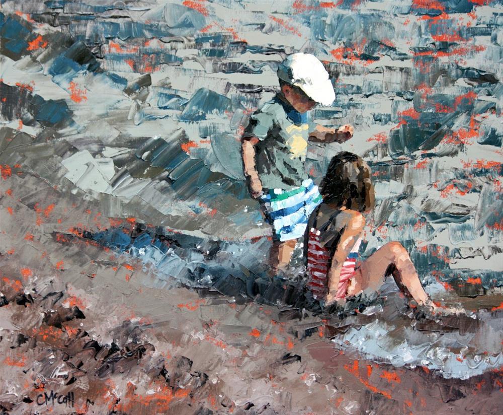 """Summer Fun"" original fine art by Claire McCall"