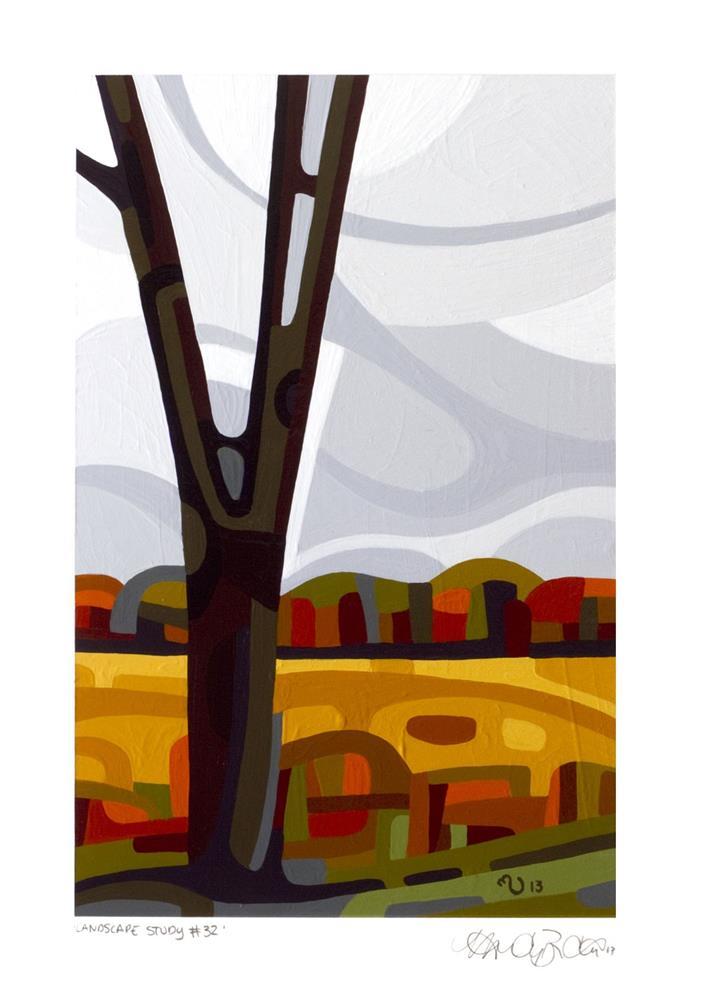 """Landscape Study #32"" original fine art by Mandy Budan"