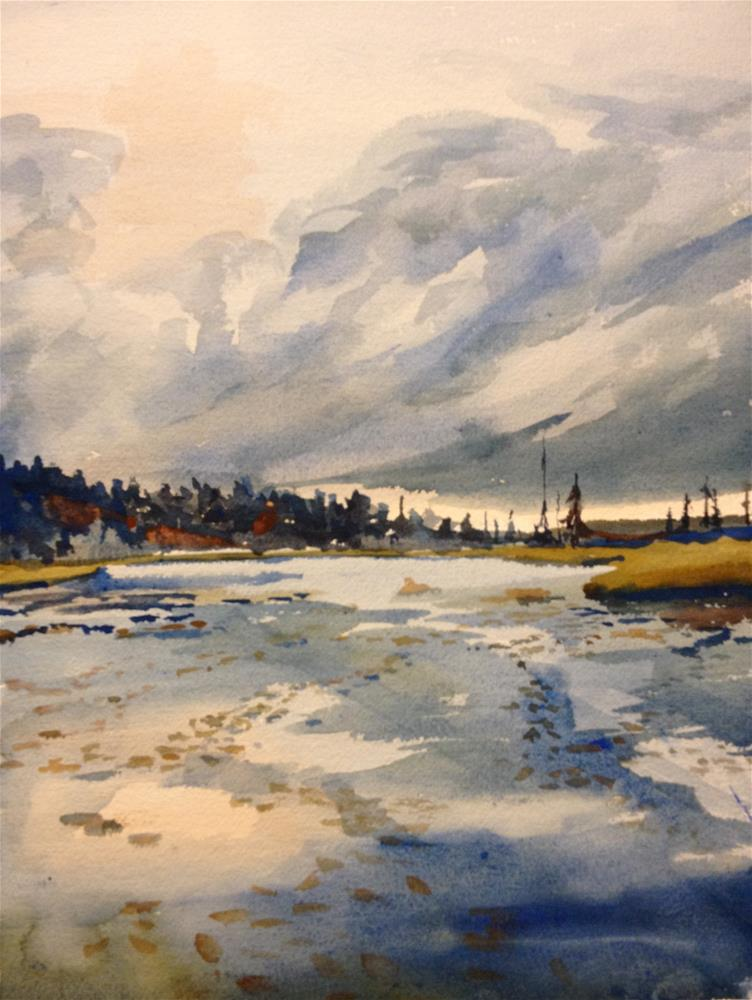 """Raquette Lake Inlet, NY"" original fine art by Jean Krueger"