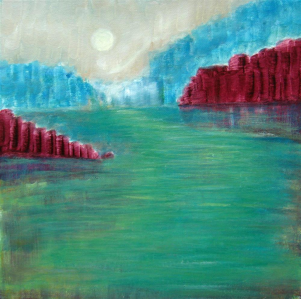 """Red Rocks"" original fine art by Alina Frent"