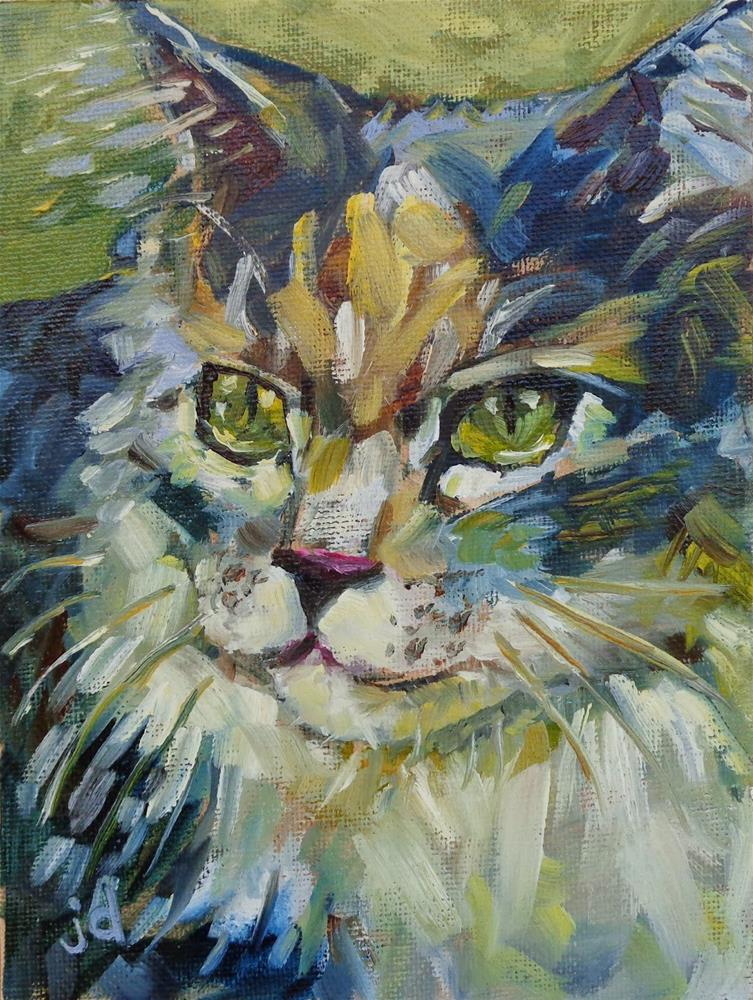 """Millie"" original fine art by Jean Delaney"