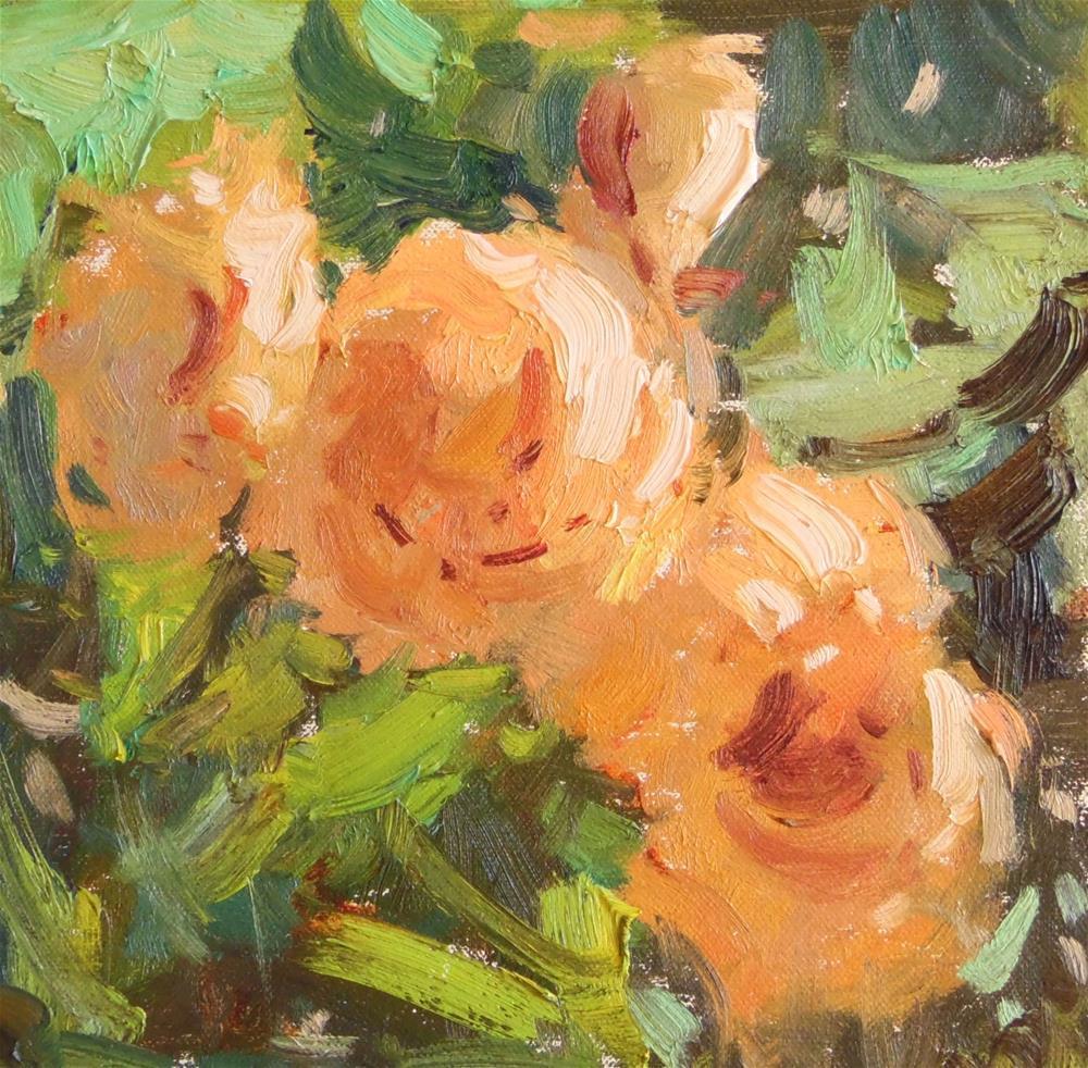 """A Sunny Bunch "" original fine art by Michael Clark"
