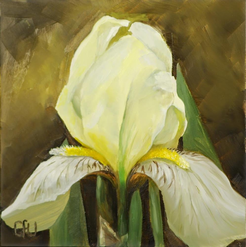 """Yellow Iris"" original fine art by Gary Westlake"
