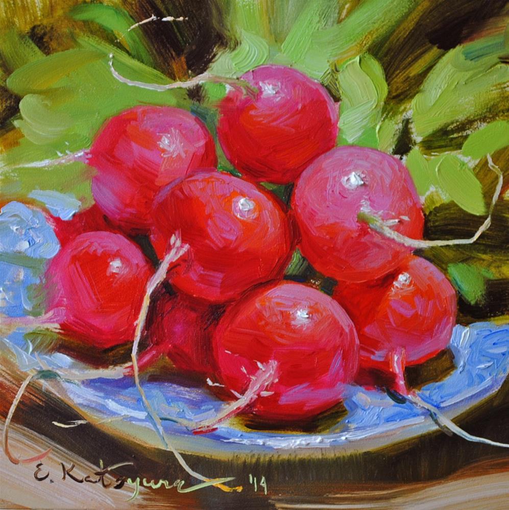 """June Harvest"" original fine art by Elena Katsyura"