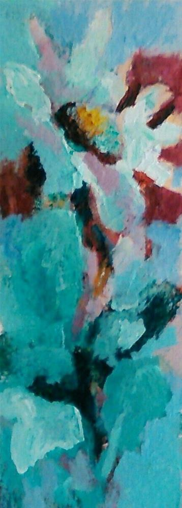 """UpReaching"" original fine art by Ann Rudd"