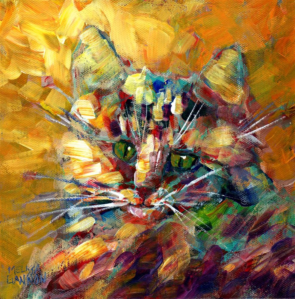 """Patchwork & Calico"" original fine art by Melissa Gannon"