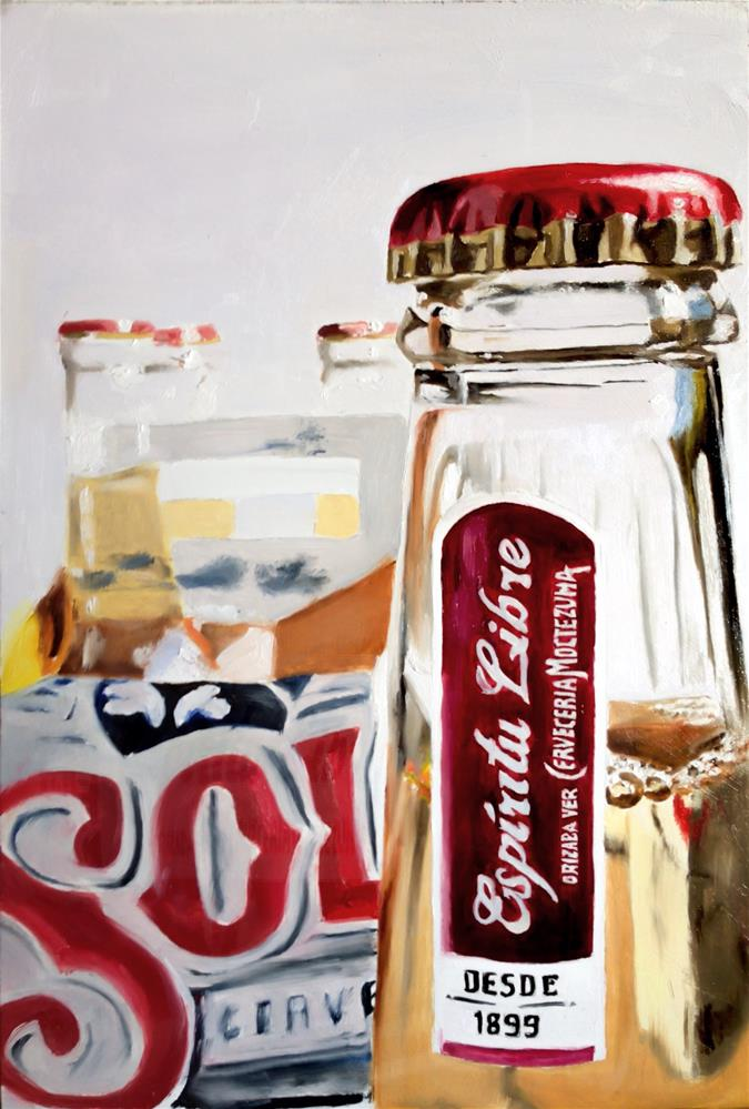 """Sol Beer"" original fine art by James Coates"