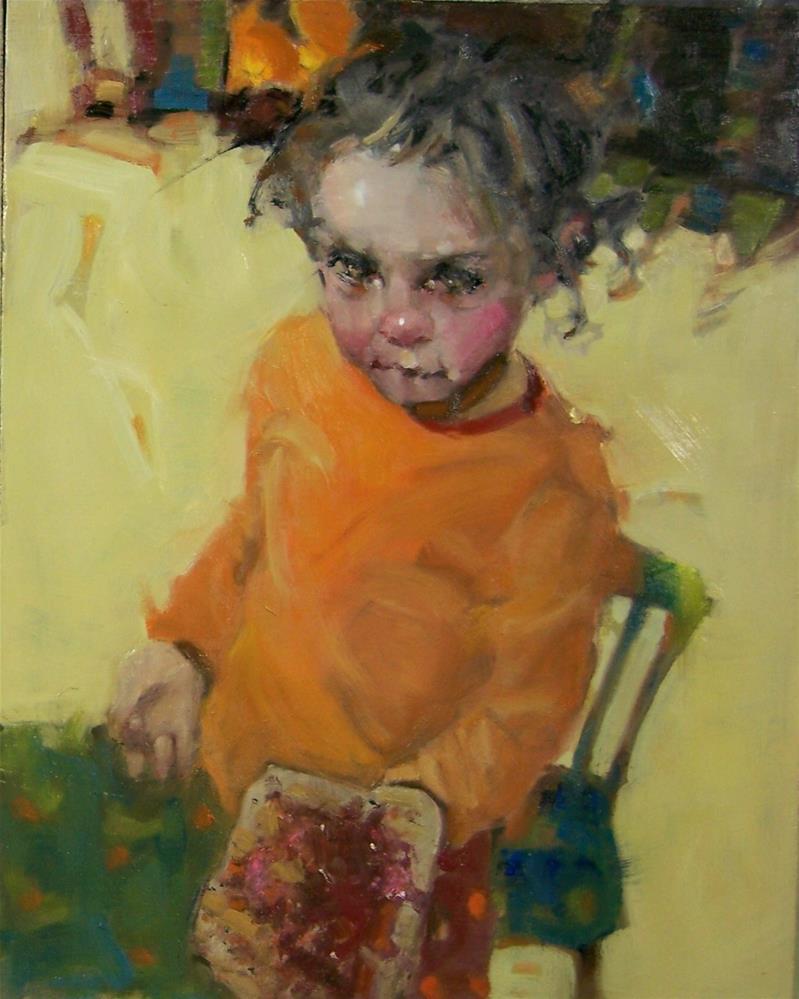 """PBJ"" original fine art by Kim Roberti"