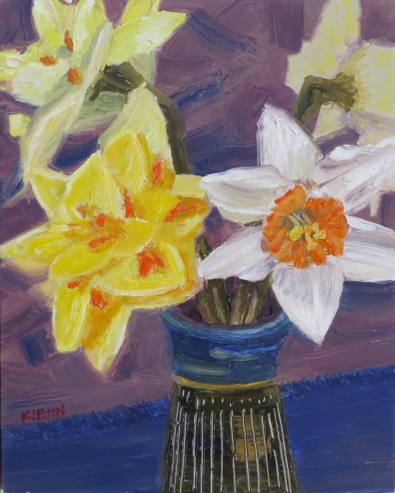 """Memories of Spring"" original fine art by Richard Kiehn"