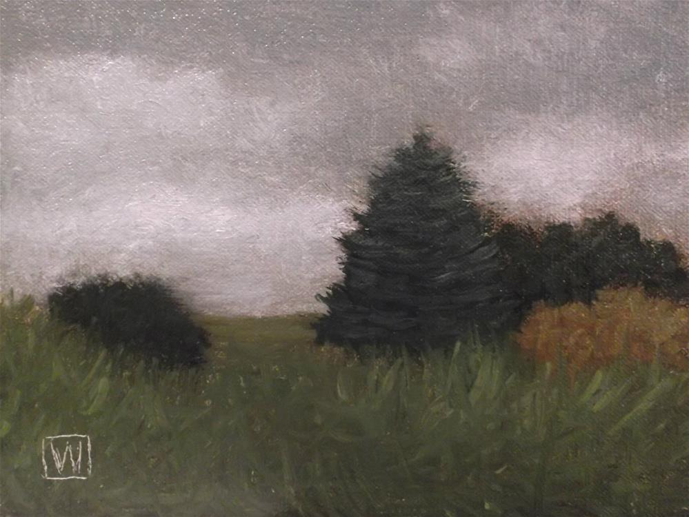 """Tonalist study No.6"" original fine art by Joe Wojdakowski"