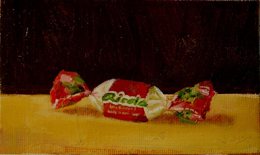 """ricola"" original fine art by V. DeBak"