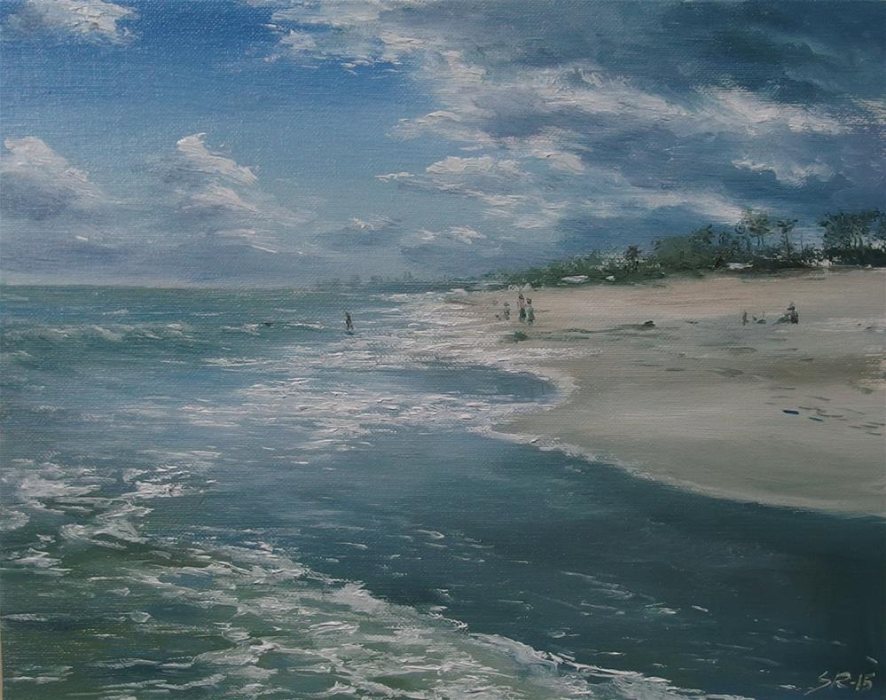 """Boynton Beach"" original fine art by Stig Rosenlund"
