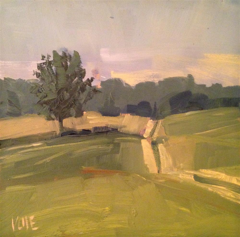 """#134 Peace & Quiet"" original fine art by Patty Voje"