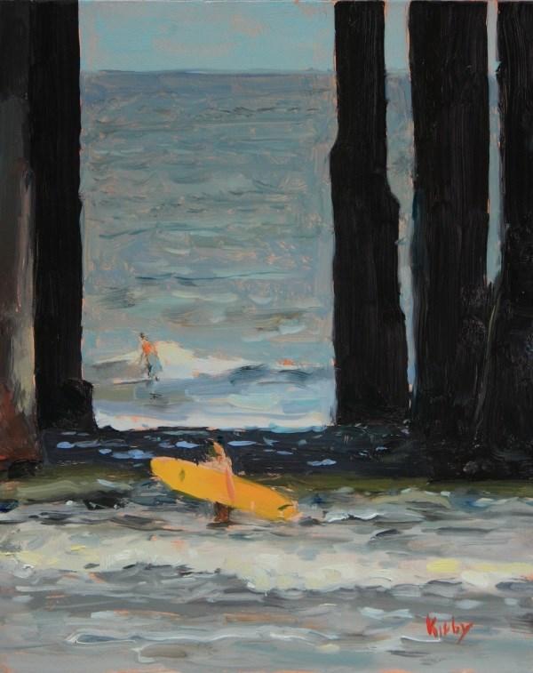 """Among Giants"" original fine art by Randall Cogburn"