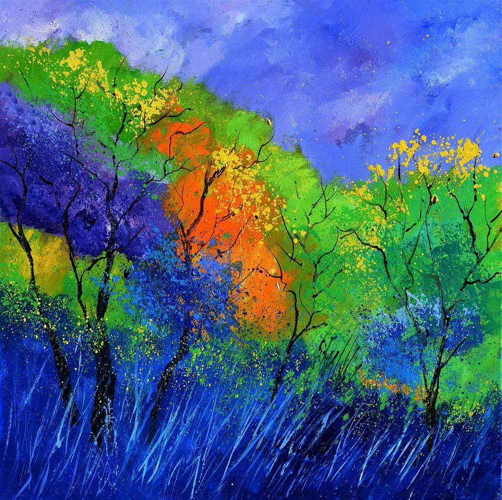 """summer 776130"" original fine art by Pol Ledent"
