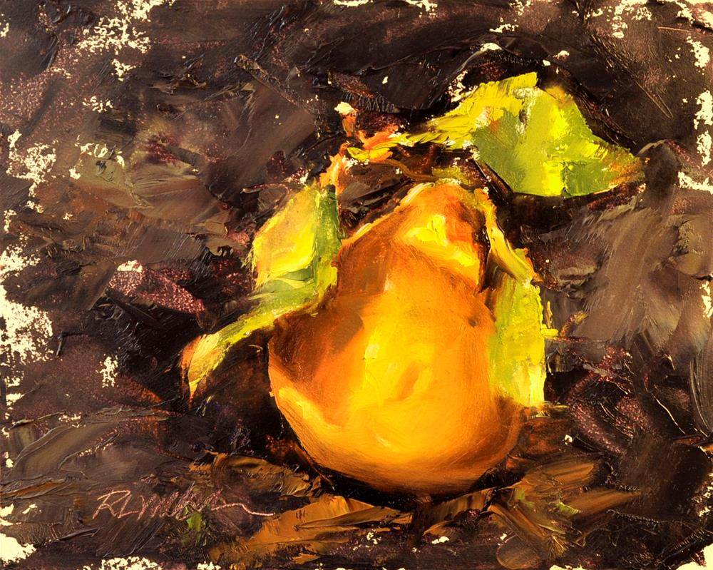 """Orange"" original fine art by Rl Weber"