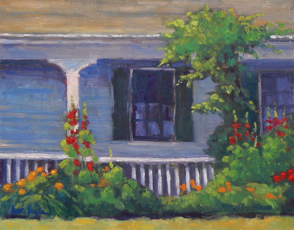"""Summer's Bounty"" original fine art by Lisa Kyle"