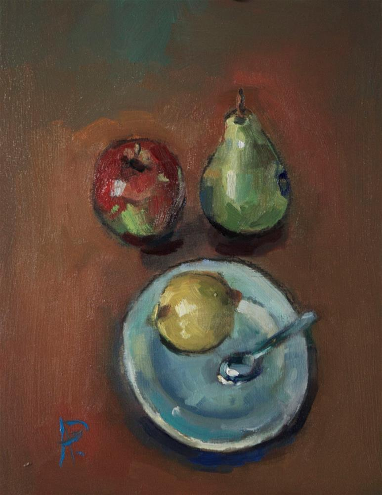 """Still Life with Fruit"" original fine art by Andre Pallat"