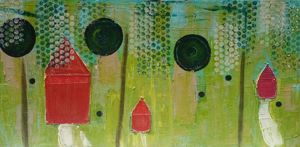 """Welcome Home"" original fine art by Christy Tremblay"