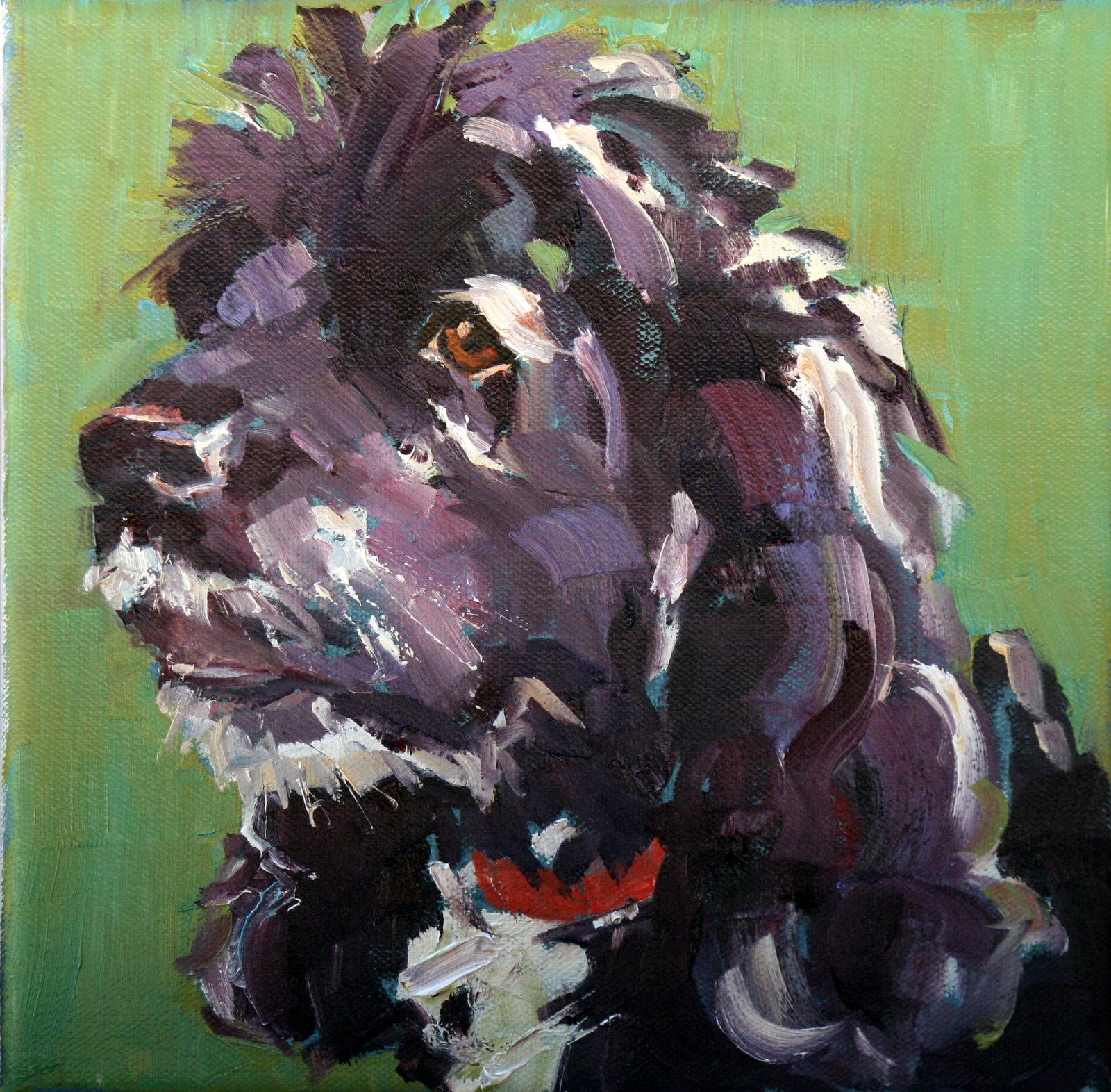 """jada"" original fine art by Carol Carmichael"
