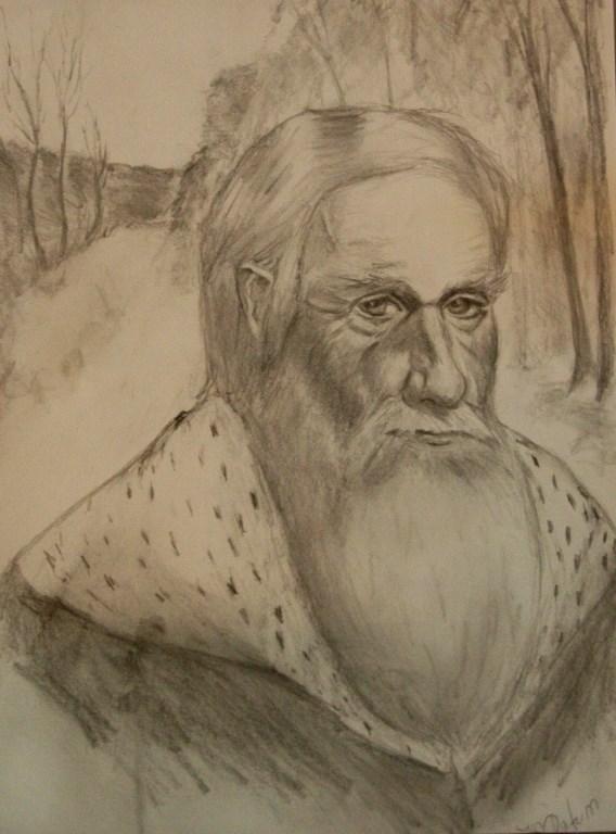 """King Wenceslas"" original fine art by Mary Datum"