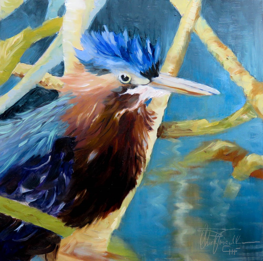 """""""Mad about me"""" original fine art by Christa Friedl"""